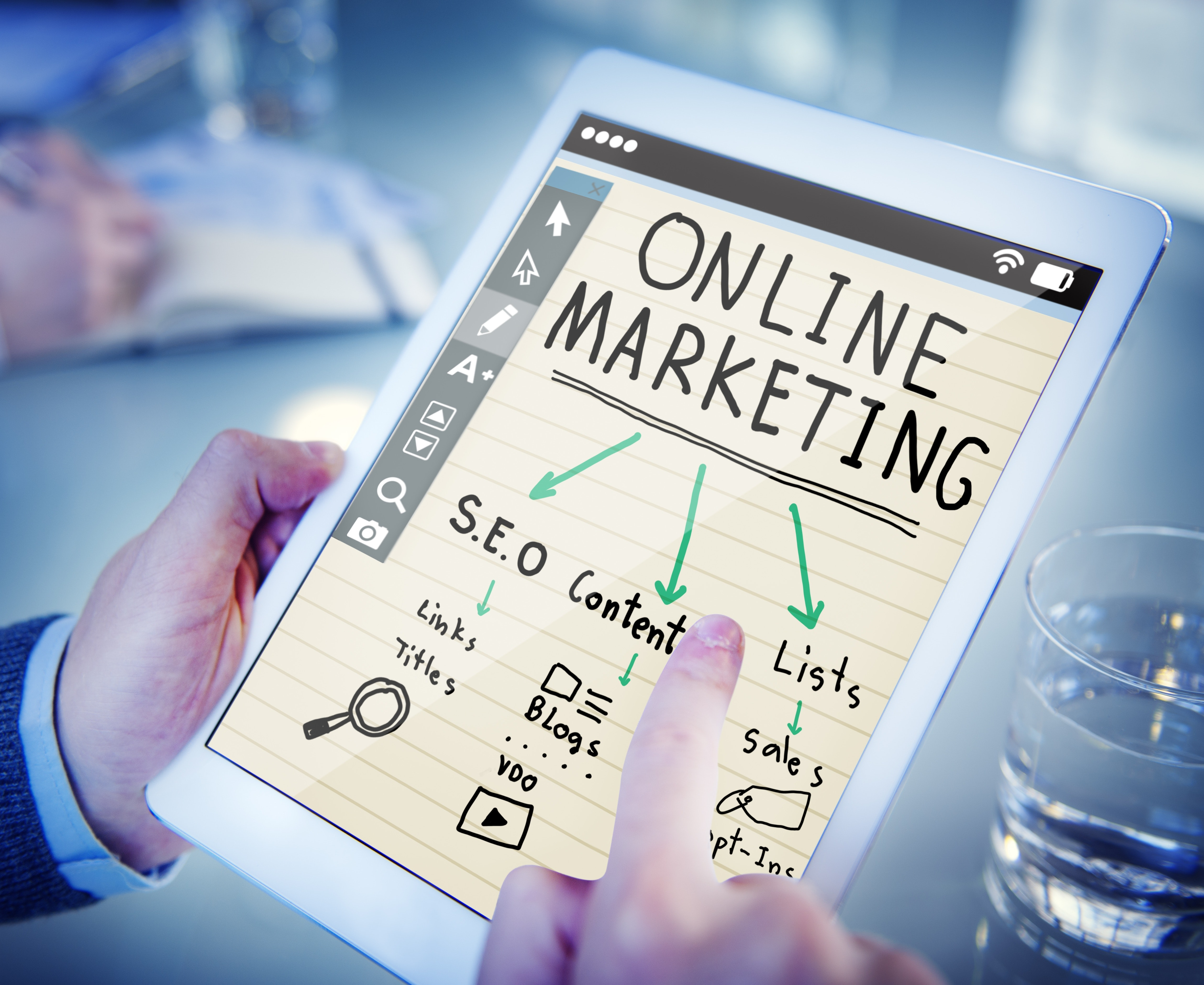 content marketing w social media