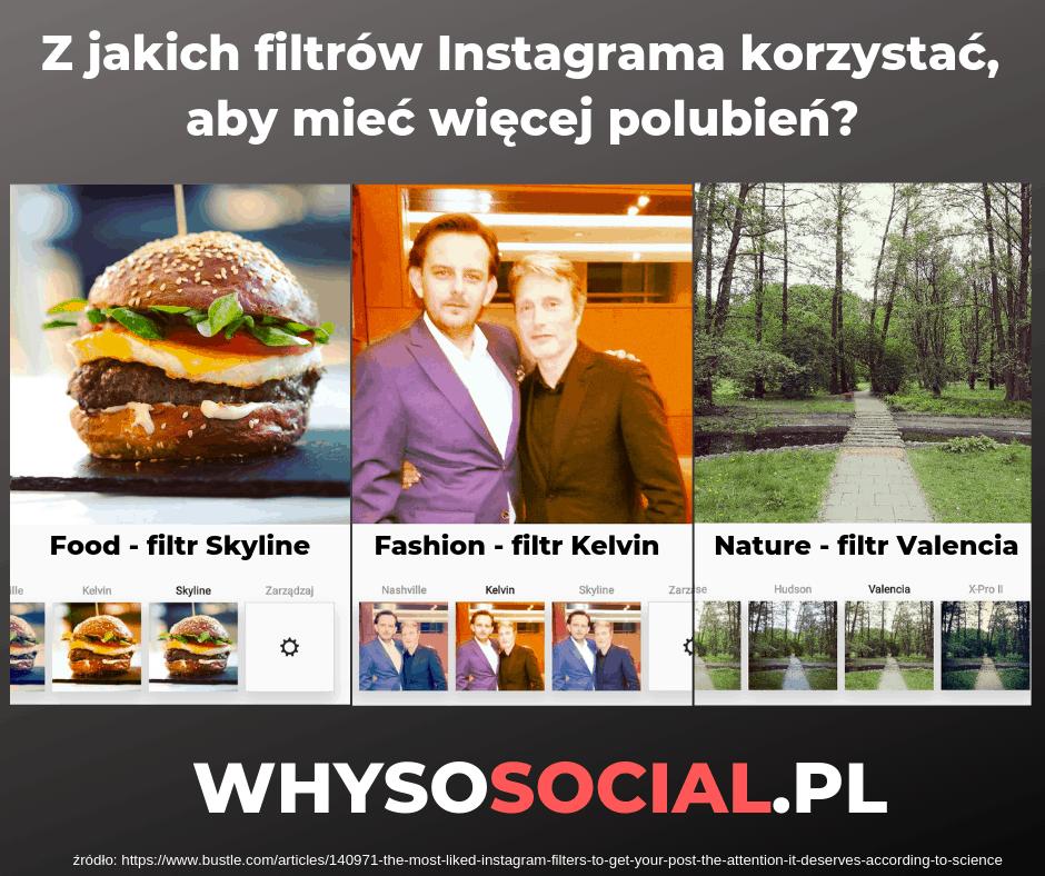Instagram - jakich filtrów używać