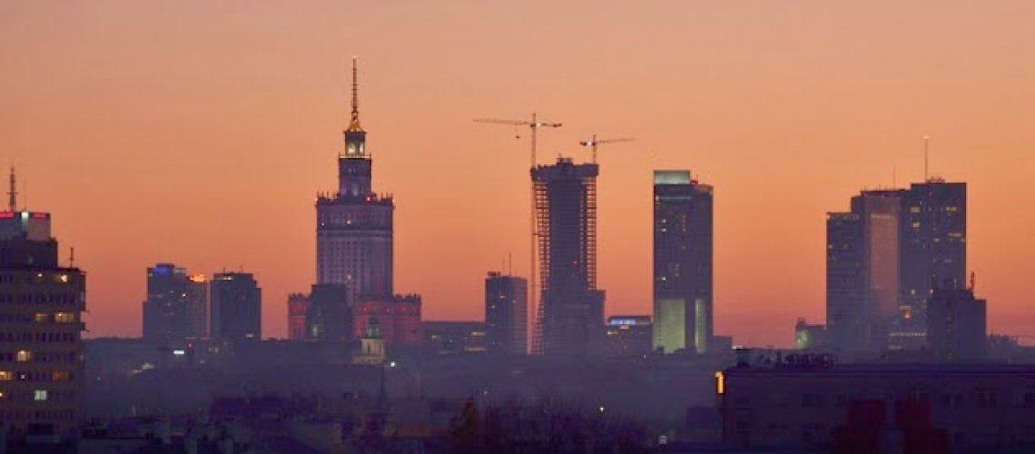 Warsaw evening