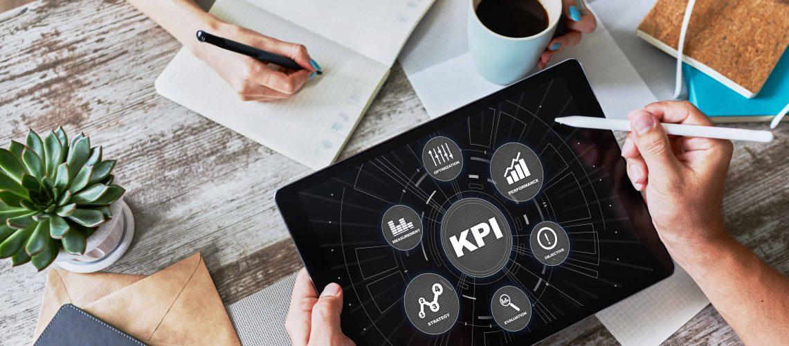 KPI - Key performance indicator. Business process efficiency improvement