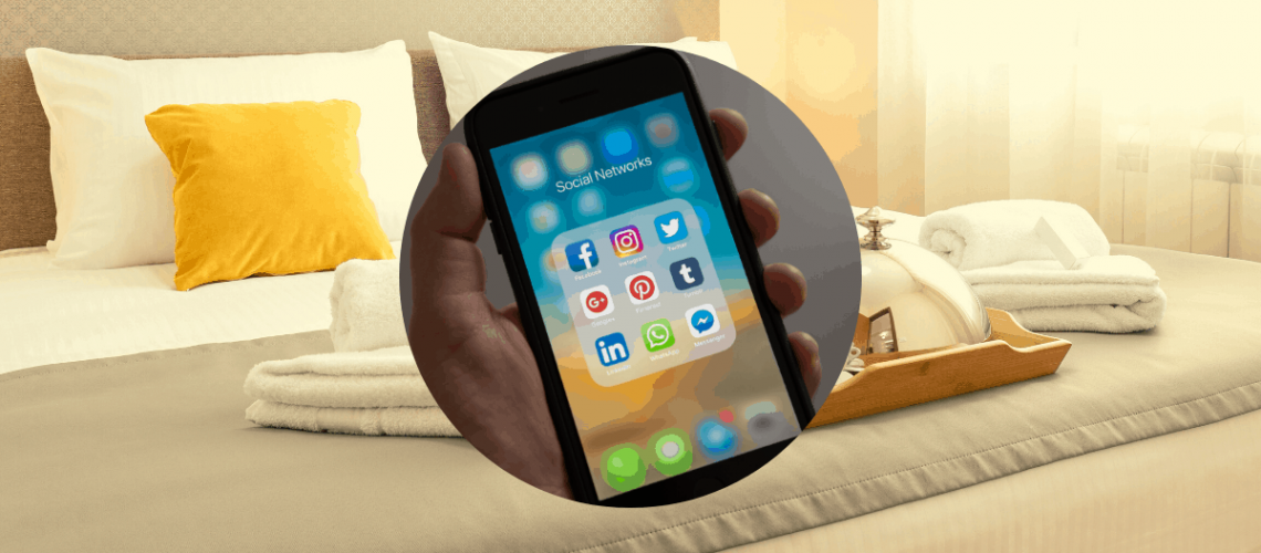 social media hotele